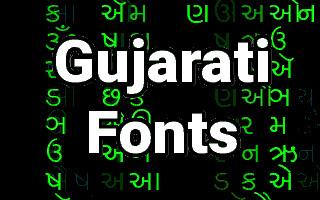Gujarati Letters